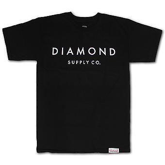 Diamond Supply Co Stone Cut T-shirt Black