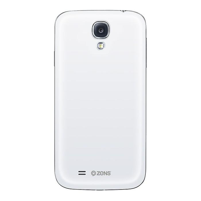 Zens ZEKUS4W00 invite wireless Cover Bundle Galaxy S4 i9500 white