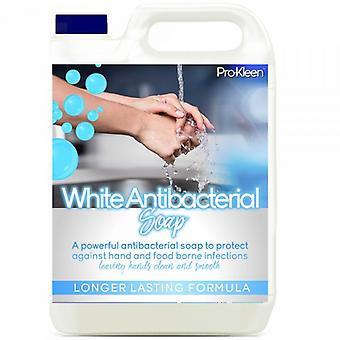 Pro-kleen Antibacterial Hand Soap White Soap; 5 Litres