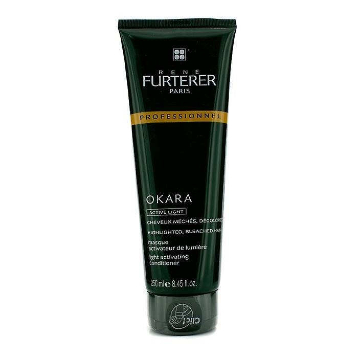 Rene Furterer Okara lys aktivere balsam - For markert, bleket håret (Salon produkt) 250ml / 8.45 oz