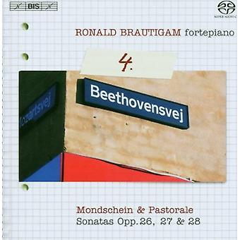 Ronald Brautigam - Beethoven: Complete Works for Solo Piano, Vol. 4 [SACD] USA import