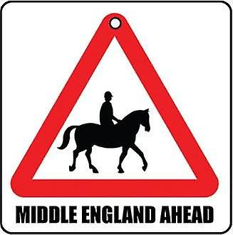 Middle England Ahead Car Air Freshener