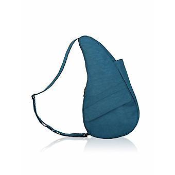 The Healthy Back Bag textured Nylon with Ipad box Turkish Blue Medium