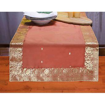 Rust - Hand Crafted Table Runner (India)