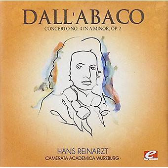 Dall'Abaco - Concerto 4 importare una minore Op 2 [CD] USA