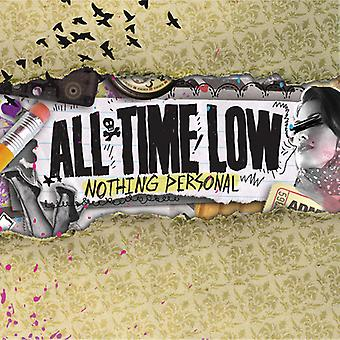 All Time Low - Nothing Personal [CD] USA import