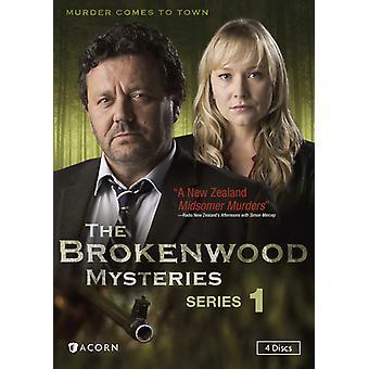 Brokenwood Mysteries: Serie 1 [DVD] USA importeren