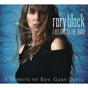 Rory Block - jeg sgu til bandet: en hyldest til rev [CD] USA import