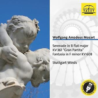 W.a. Mozart - Mozart: Serenade i B Flat Major; Gran Partita; Fantasia i F mindre [CD] USA import