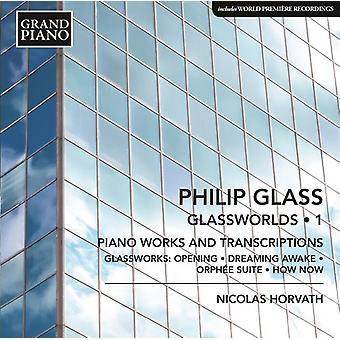 Glas / Horvath, Nicolas - klaver værker 1 - åbning fra glasværk / Dreaming [CD] USA import