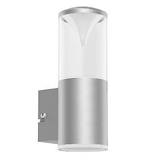 Eglo Penalva 1 Light LED IP44 Wall Light Stainless Steel