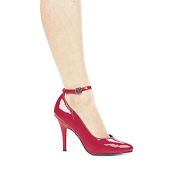 Ellie Shoes E-8401 4 Heel B Width Pump With Ankle Strap