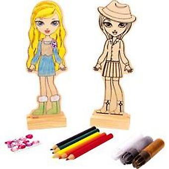 Legler Doll to paint (Toys , Educative And Creative , Design And Paint , Design Centres)
