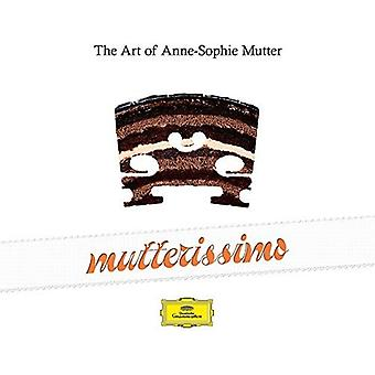 Anne-Sophie Mutter - Mutterissimo-the a [CD] USA import