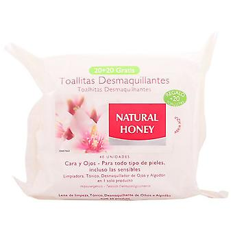 Natural Honey Wipes up Removers 20 + 10 Units Free