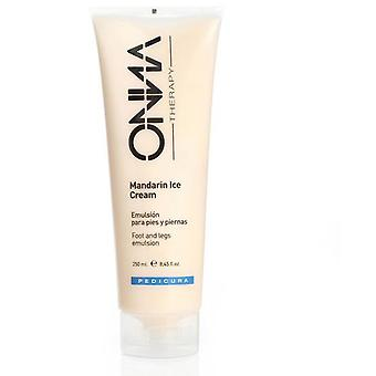 Onna Therapy Foot and Legs Emulsion Mandarin Ice Cream 250 Ml