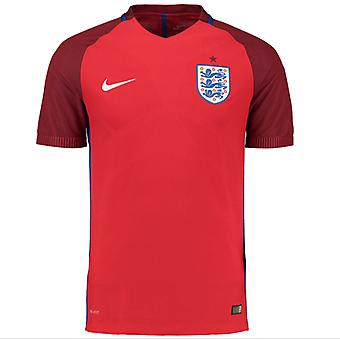 2016-2017 Engeland weg Nike authentiek Match Shirt