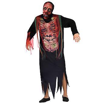 Trajes de los hombres Zombie halloween traje