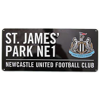 Newcastle United FC Official St James Park Football Crest Street Sign