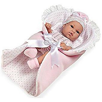 Arias Natal With Blanket Pink 33 Cm (Toys , Dolls And Accesories , Baby Dolls , Dolls)