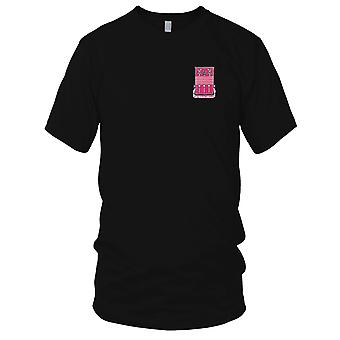 US Army - 353rd Engineer Battalion Embroidered Patch - Ladies T Shirt