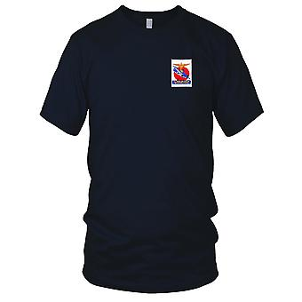 US Navy National Air Station Melbourne, Florida WWII Embroidered Patch - Mens T Shirt