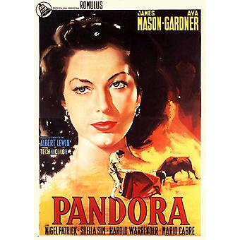 Pandora en de vliegende Hollander Movie Poster (11 x 17)