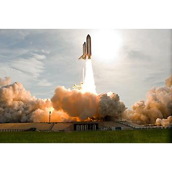 Space Shuttle Endeavour lifts off from Kennedy Space Center Poster Print by Stocktrek Images