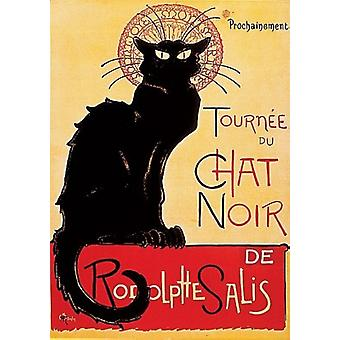 Chat Noir Poster Print by Theophile-Alexandre Steinlen (18 x 24)