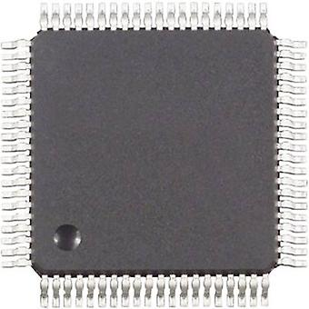 Innebygd microcontroller MC9S12A256CFUE QFP 80 (14 x 14) NXP Halvledere 16-biters 25 MHz I/O nummer 59