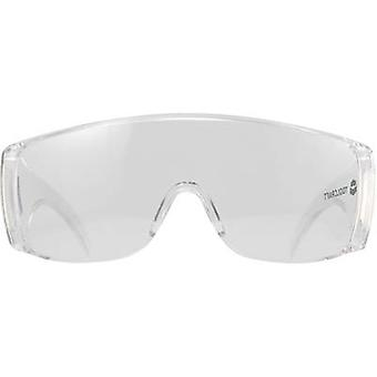 Safety glasses TOOLCRAFT Transparent