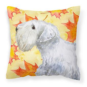 Carolines Treasures  BB9945PW1818 Sealyham Terrier Fall Fabric Decorative Pillow