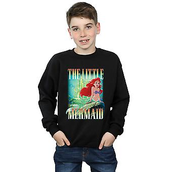 Disney Boys The Little Mermaid Ariel Montage Sweatshirt