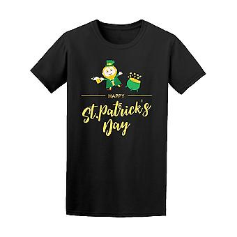 Gold St Patrick's Day Leprechaun Tee Men's -Image by Shutterstock