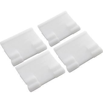 Poolvergnuegen 896584000-419-Halterung für Rock 4 Pack - White