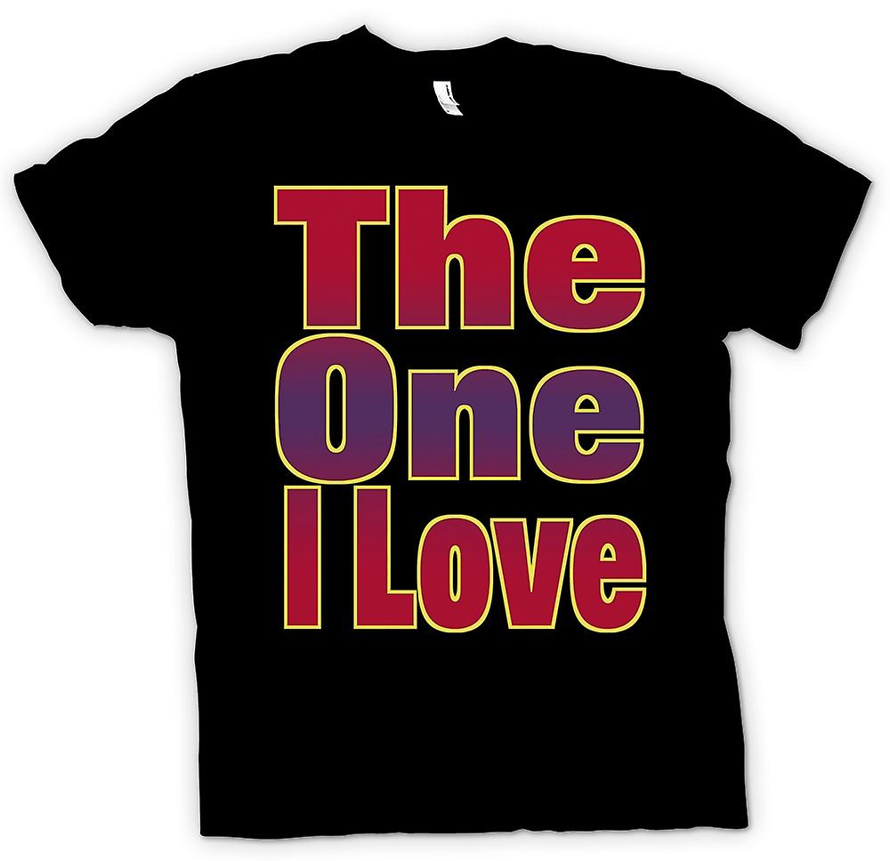 Mens T-shirt - The One I Love
