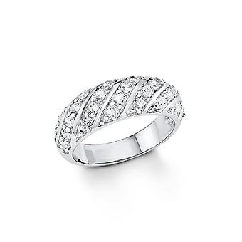s.Oliver Jewel ladies ring silver Zirkonia SO1136