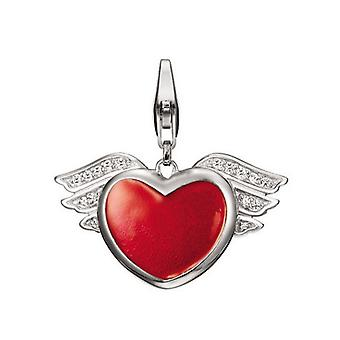 ESPRIT pendant of charms silver hearty Angel ESCH90881A000