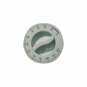 Indesit weiß Siebdruck Wäschetrockner Trockner Timer Knopf