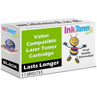 Compatible Xerox 113r00735 Black Toner Cartridge (113r00735)