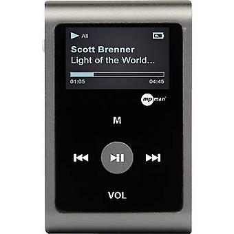 MPMan reproductor MP30WOM MP3 player 0 GB gris Clip