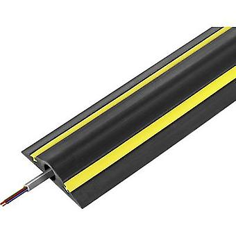 Vulcascot Cable bridge Rubber Black No. of channels: 1 1500 mm Content: 1 pc(s)