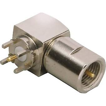 FME connector Plug, horizontal mount 50 Ω BKL Electronic 0412063 1 pc(s)