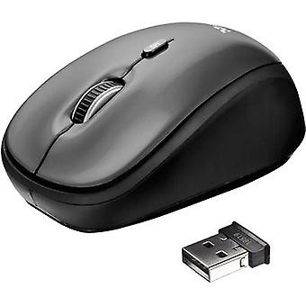 Trust Yvi Wireless mouse óptico negro