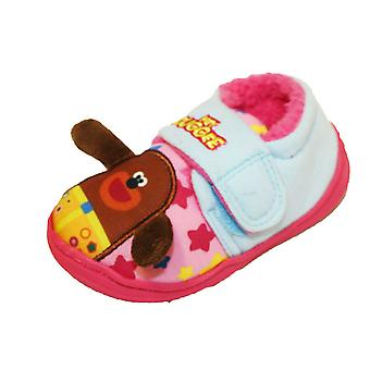 Hey Duggee Girls Harney Touch Close Slippers