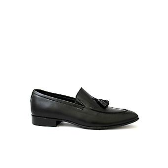 Handcrafted Premium Leather Cairngorm Tassel Loafer