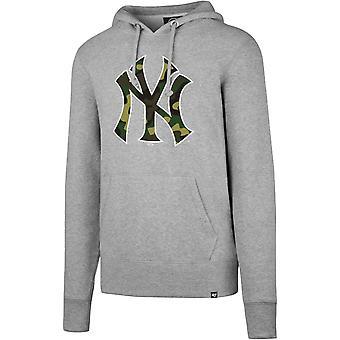47 brand CAMOFILL Hoody - MLB New York Yankees grijs