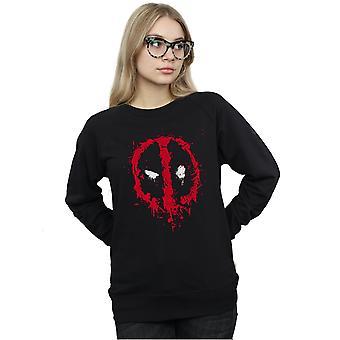 Marvel vrouwen Deadpool Splat gezicht Sweatshirt