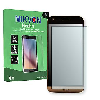 LG G5 Screen Protector - Mikvon Health (Retail Package with accessories) (intentionally smaller than the display due to its curved surface)