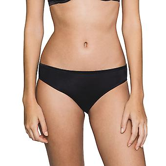 Maison Lejaby 5563M-04 Women's New Nuage Pur Black Briefs Knickers Bikini